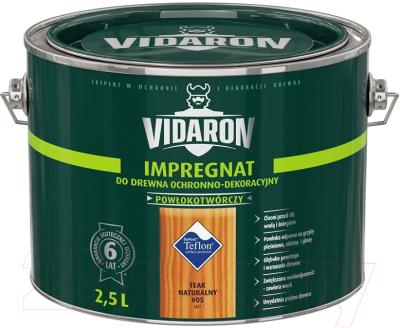Защитно-декоративный состав Vidaron Impregnant V05 Натуральный тик (2.5л)