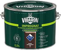 Защитно-декоративный состав Vidaron Impregnant V10 Африканское венге (2.5л) -