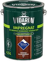 Защитно-декоративный состав Vidaron Impregnant V07 Калифорнийская секвойя (4.5л) -