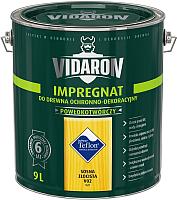 Защитно-декоративный состав Vidaron Impregnant V02 Золотистая сосна (9л) -