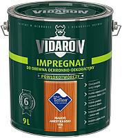 Защитно-декоративный состав Vidaron Impregnant V06 Американское Красное Дерево (9л) -