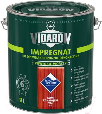 Защитно-декоративный состав Vidaron Impregnant V14 Канадский клен (9л)