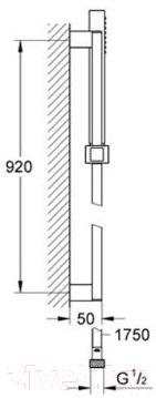 Душевая стойка GROHE Euphoria Cube 27890000