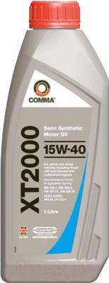 Моторное масло Comma XT2000 15W40 / XT21L (1л)