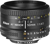 Стандартный объектив Nikon AF Nikkor 50mm f/1.8D -