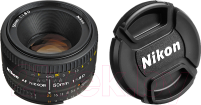 Стандартный объектив Nikon AF Nikkor 50mm f/1.8D
