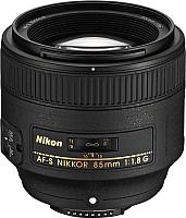 Портретный объектив Nikon AF-S Nikkor 85mm f/1.8G -