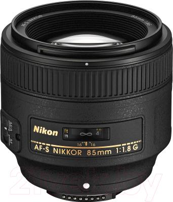 Портретный объектив Nikon AF-S Nikkor 85mm f/1.8G