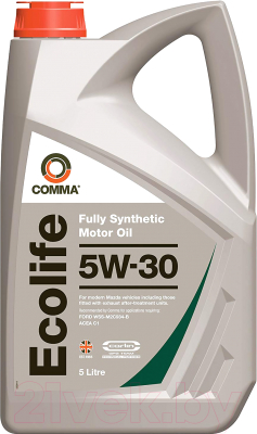 Моторное масло Comma Ecolife 5W30 / ECL5L (5л)