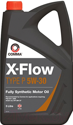 Моторное масло Comma X-Flow Type P 5W30 / XFP5L (5л)