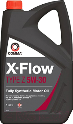 Моторное масло Comma X-Flow Type Z 5W30 / XFZ5L (5л)
