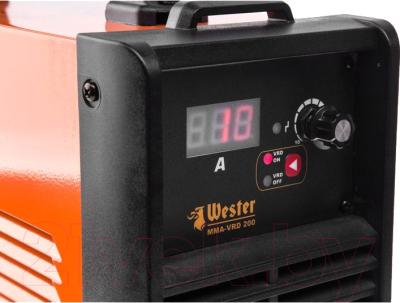Инвертор сварочный Wester MMA-VRD 200