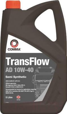 Моторное масло Comma TransFlow AD 10W40 / TFAD5L (5л)
