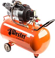 Воздушный компрессор Wester W 100-220 OLC -