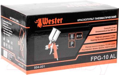 Пневматический краскопульт Wester FPG-10AL HP