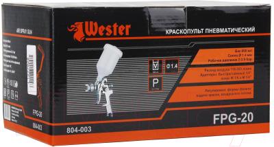 Пневматический краскопульт Wester FPG-20 HVLP