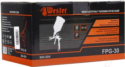 Пневматический краскопульт Wester FPG-30 LVLP
