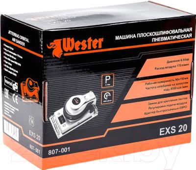 Пневмошлифмашина Wester EXS-20