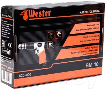 Пневмодрель Wester BM-10