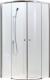 Душевое ограждение Adema Glass-100 / AG5122-100 (прозрачное стекло) -