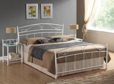 Полуторная кровать Signal Siena 120x200 (белый)
