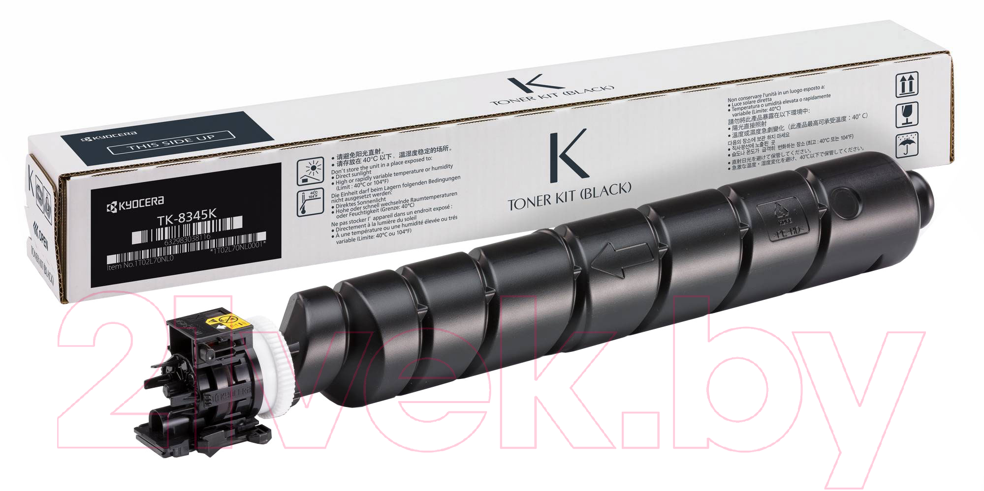 Купить Тонер-картридж Kyocera Mita, TK-8345K, Китай, черный