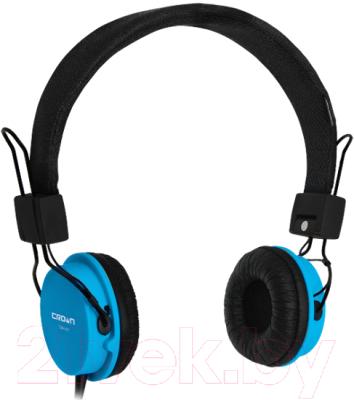Наушники-гарнитура Crown CMH-951 (синий)