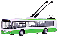 Троллейбус игрушечный Play Smart Троллейбус 9690-A -