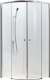 Душевое ограждение Adema Glass-100 / AG5122-100 (тонированное стекло) -