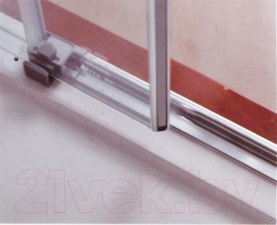 Душевой уголок Adema Glass Vierkant / AG5112-100 (прозрачное стекло)