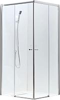 Душевой уголок Adema Glass Vierkant / AG5112-100 (тонированное стекло) -