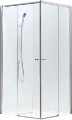 Душевой уголок Adema Glass Vierkant / AG5112-100 (тонированное стекло)