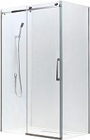 Душевой уголок Adema Slide-120 / AD7713-120 (тонированное стекло) -