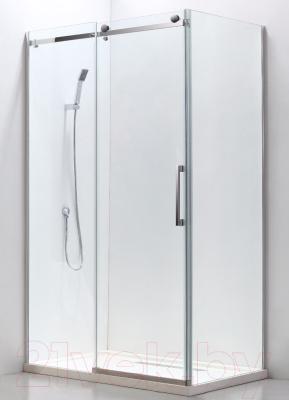 Душевой уголок Adema Slide-120 / AD7713-120 (тонированное стекло)