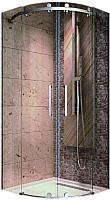 Душевой уголок Adema Supreme / AG7726-90 (тонированное стекло) -