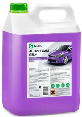 Автошампунь Grass Active Foam Gel+ / 113181 (6кг)