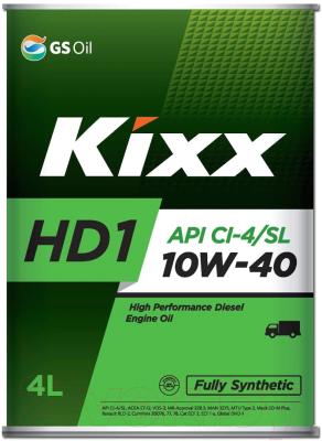 Моторное масло Kixx Fully Synthetic HD1 10W40 / L206144TE1 (4л)