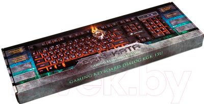 Клавиатура Dialog Gan-Kata KGK-15U (черный)
