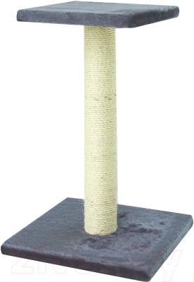 Лежанка-когтеточка UrbanCat SP64-01-02 (темно-серый)