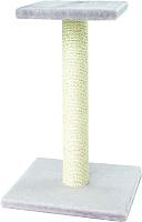 Лежанка-когтеточка UrbanCat SP64-01-04 (светло-серый) -