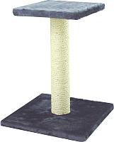 Лежанка-когтеточка UrbanCat SP54-01-02 (темно-серый) -