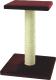 Лежанка-когтеточка UrbanCat SP54-01-07 (бордовый) -