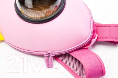Детский рюкзак Bradex Ракета DE 0238 (розовый)