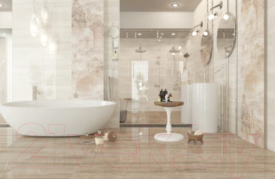 Декоративная плитка Golden Tile Савой 5 (300x600)