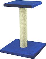 Лежанка-когтеточка UrbanCat SP54-01-09 (синий) -