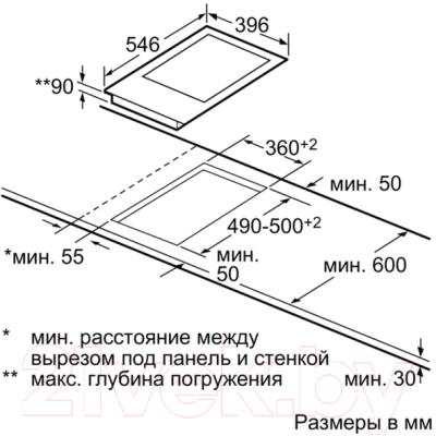Электрическая варочная панель NEFF N74TD00N0