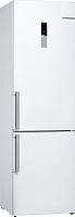 Холодильник с морозильником Bosch KGE39XW2OR -