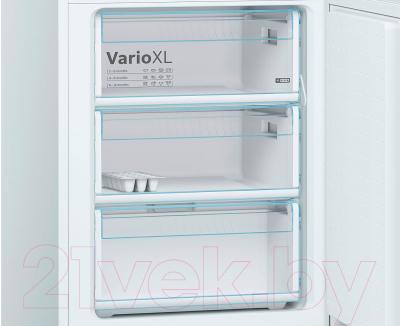 Холодильник с морозильником Bosch KGE39XW2OR