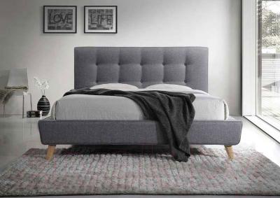 Двуспальная кровать Signal Sevilla 160x200 (серый)