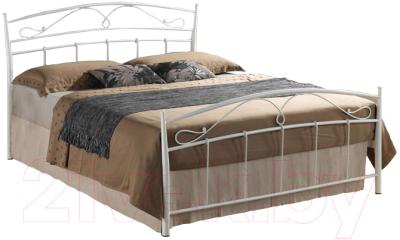 Полуторная кровать Signal Siena 140x200 (белый)